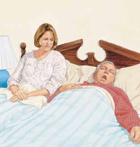 puedo adelgazar: apnea del sueño